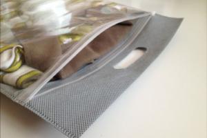 Спанбондовый пакет с молнией зип-лок