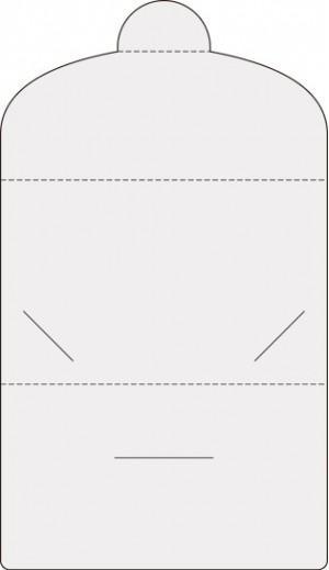 Контур штампа конверта Konv1233