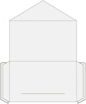Контур штампа конверта Konv214