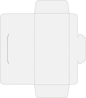 Контур штампа конверта Konv378