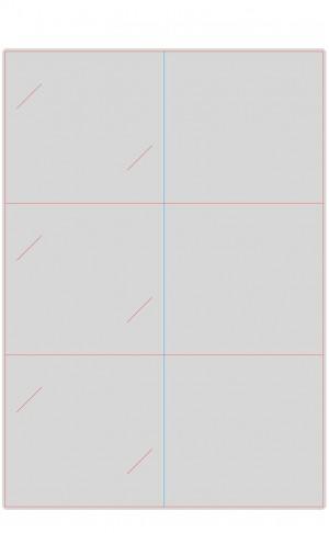 Контур штампа конверта Konv04