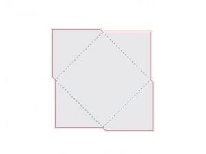 Контур штампа конверта Konv34