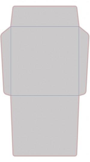 Контур штампа конверта Konv38