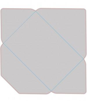 Контур штампа конверта Konv39