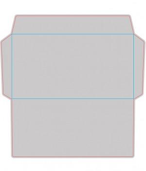 Контур штампа конверта Konv42