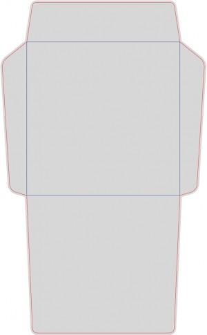 Контур штампа конверта Konv51