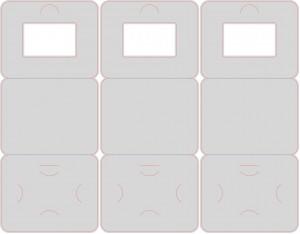 Контур штампа конверта FIG54