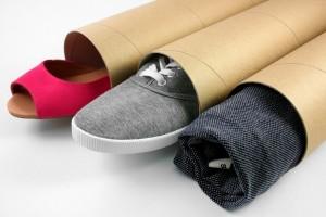 Упаковочный тубус для одежды и обуви